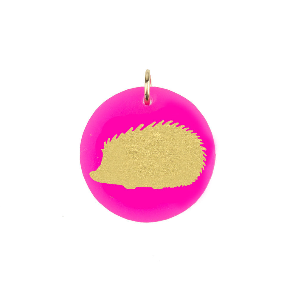 I found this at #moonandlola! - Hedgehog Charm