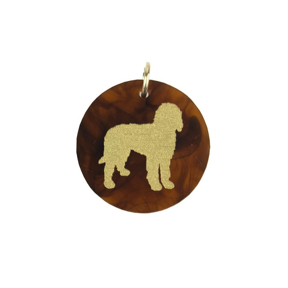 Moon and Lola Labradoodle Charm