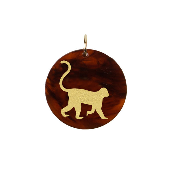 I found this at #moonandlola! - Eden Monkey Charm