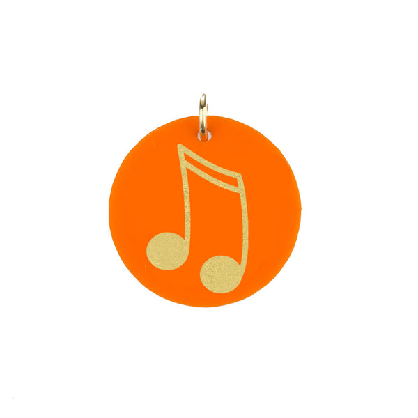 Moon and Lola - Eden Music Note Charm