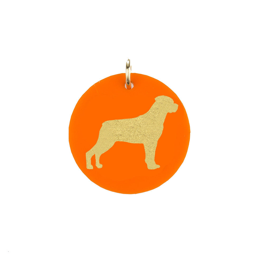 I found this at #moonandlola! - Rottweiler Charm