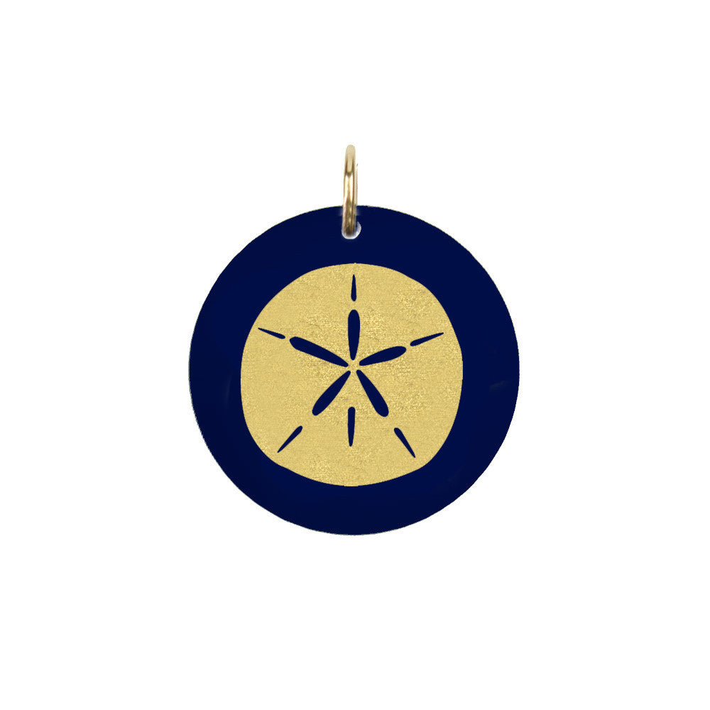 I found this at #moonandlola! - Eden Sand Dollar Charm