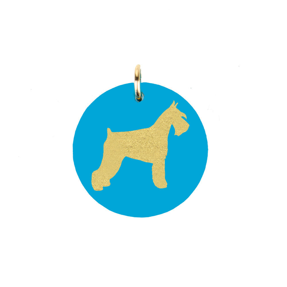 I found this at #moonandlola! - Miniature Schnauzer Charm