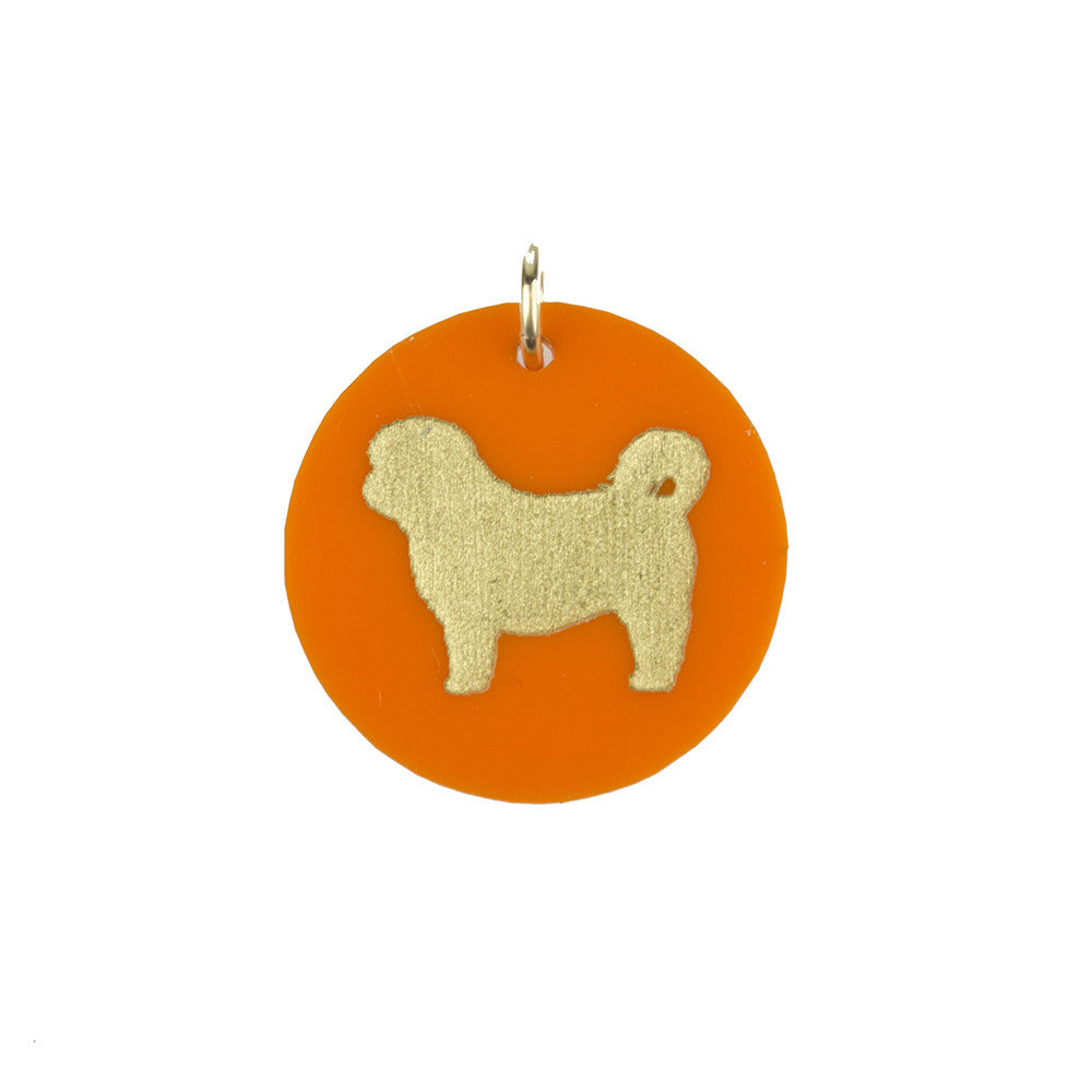 I found this at #moonandlola! - Eden Shih-Tzu Charm Tangerine