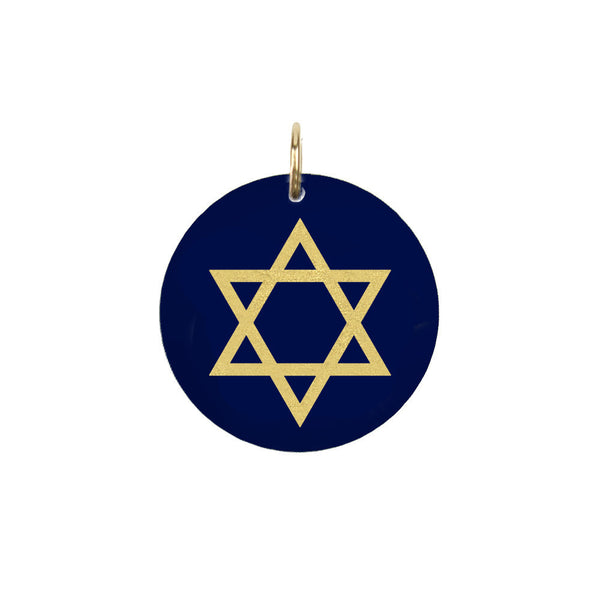 I found this at #moonandlola! - Eden Star of David Charm