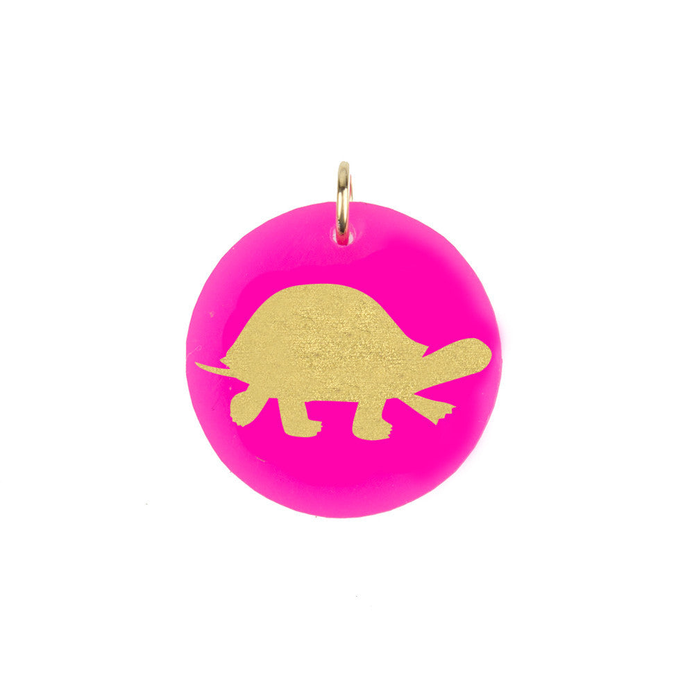 I found this at #moonandlola! - Turtle Charm