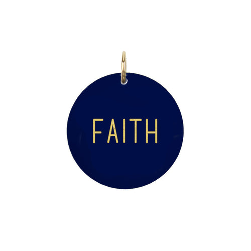 I found this at #moonandlola! - Faith Charm