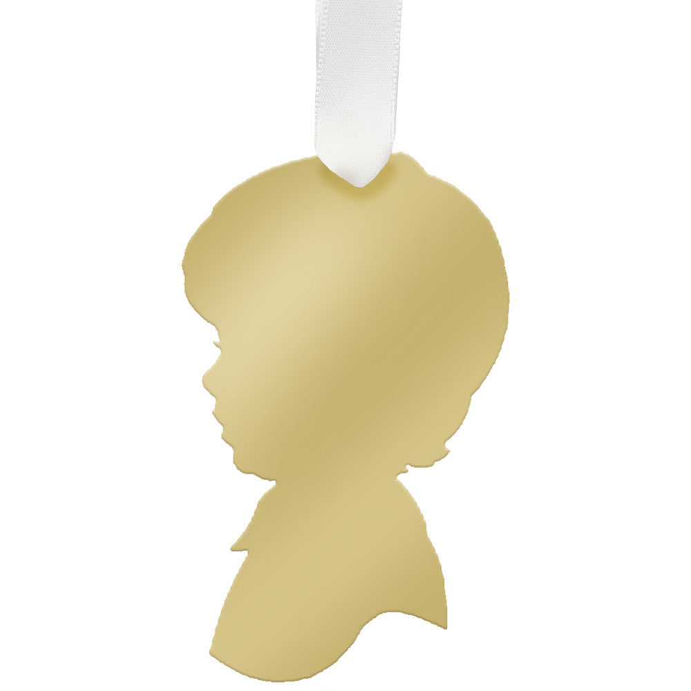 I found this at #moonandlola! - George Ornament Mirrored Gold