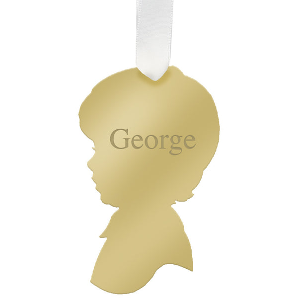 Moon and Lola - Personalized George Ornament