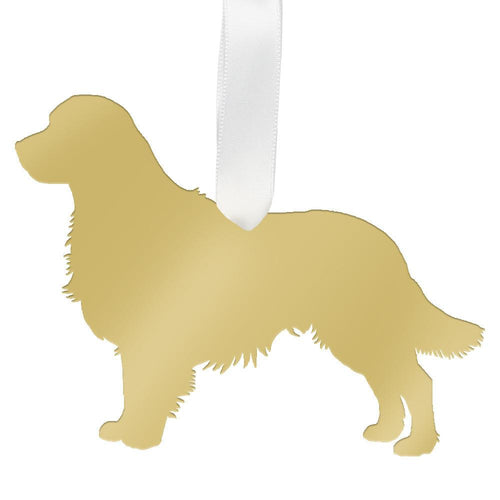Moon and Lola - Golden Retriever Ornament