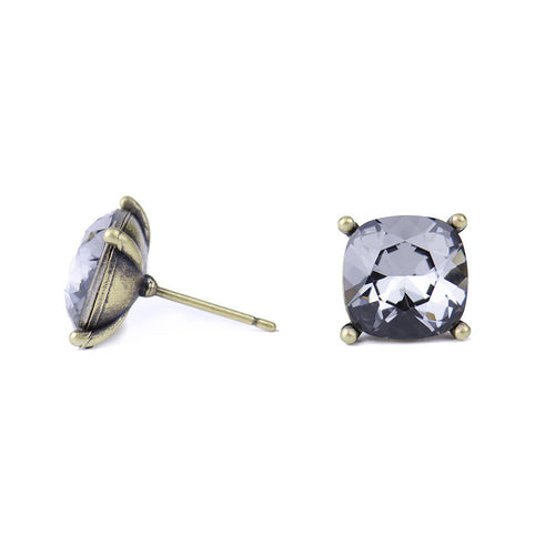 I found this at #moonandlola! - Hadley Studs Black Diamond side view