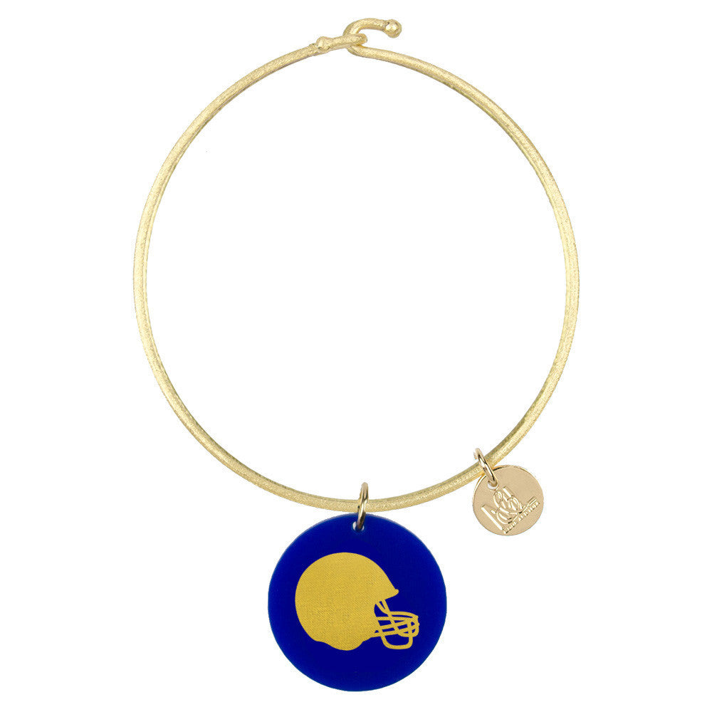 I found this at #moonandlola! - Eden Helmet Charm Bangle