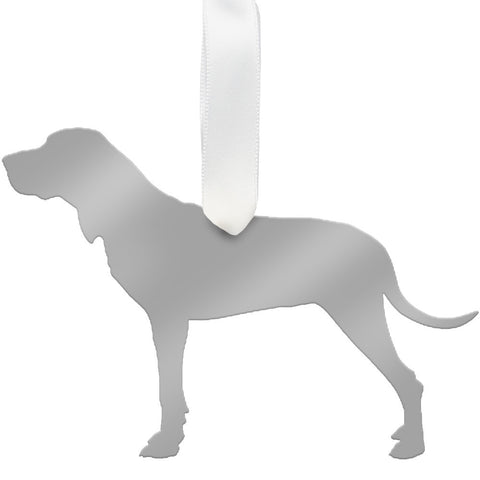 Moon and Lola - Hound Ornament Mirrored Gold