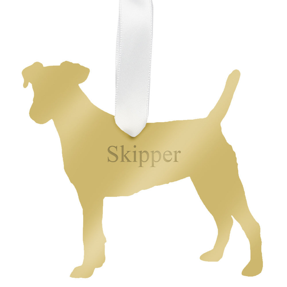 I found this at #moonandlola! - Personalized Jack Russell Terrier Ornament