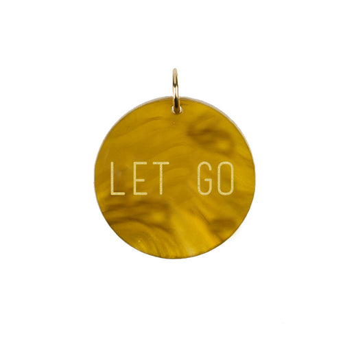I found this at #moonandlola! - Let Go Charm