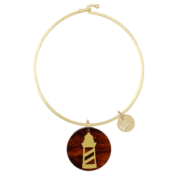 I found this at #moonandlola! - Eden Lighthouse Charm Bangle