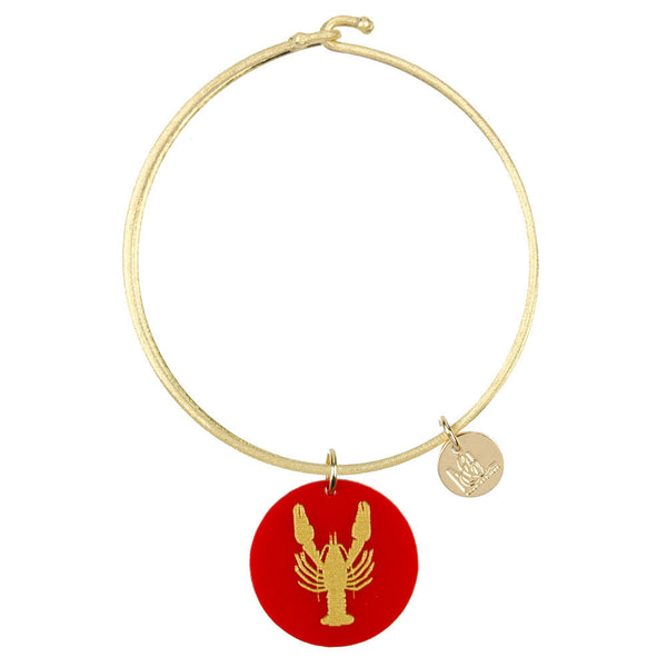 Moon and Lola - Eden Lobster Charm Bangle
