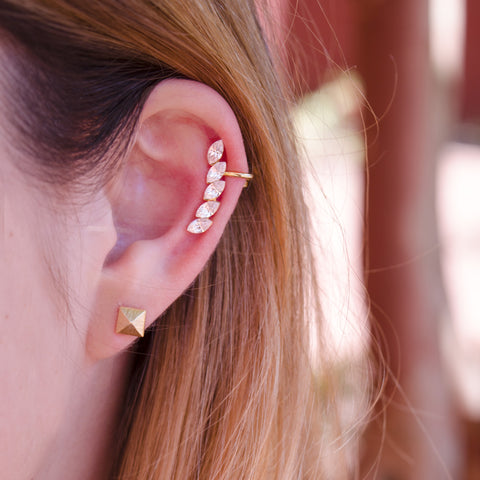 I found this at #moonandlola! - Marion Ear Cuff