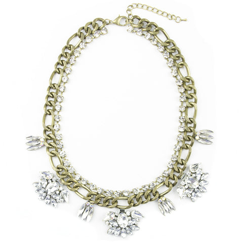 I found this at #moonandlola! - Marlow Rhinestone Necklace