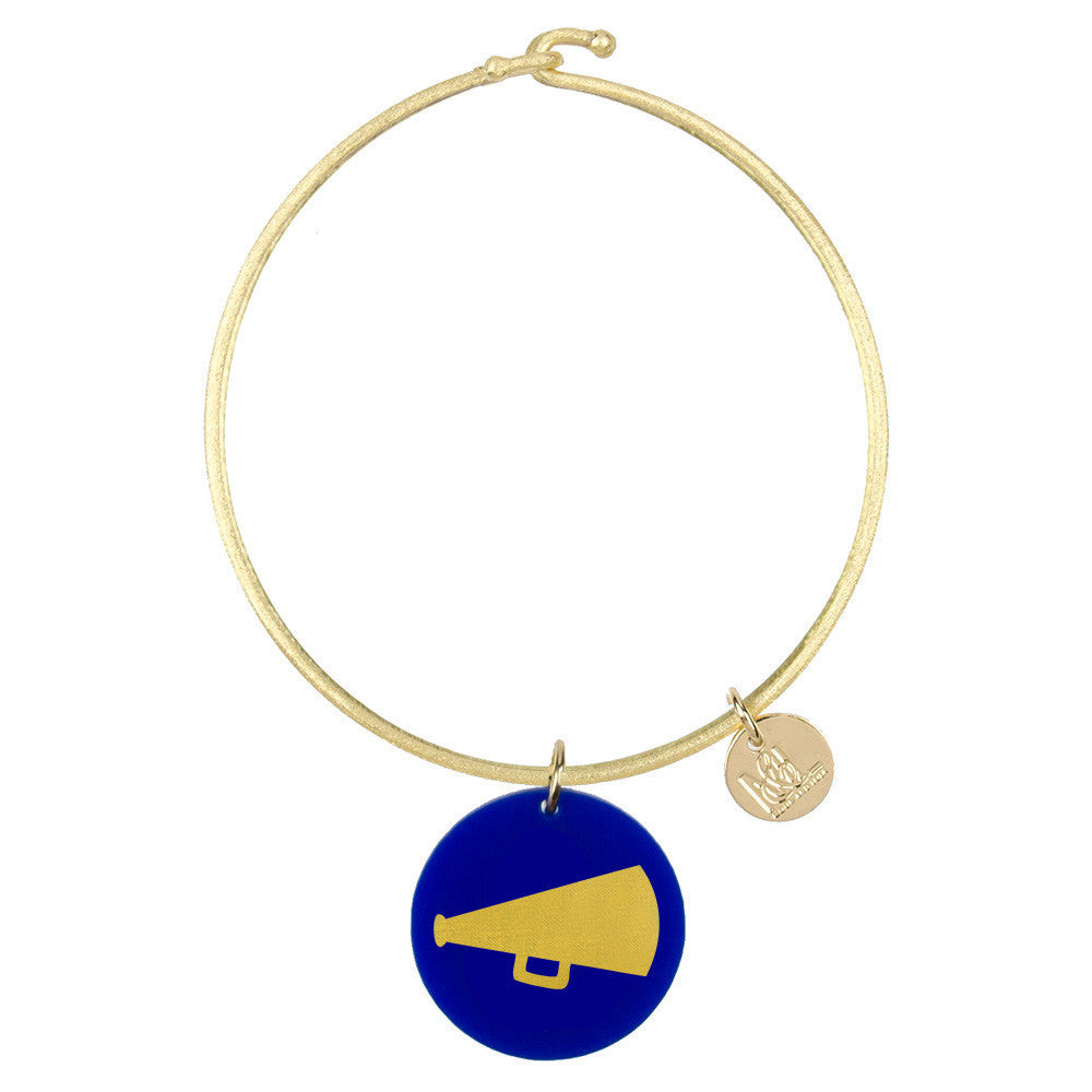 I found this at #moonandlola! - Eden Megaphone Charm Bangle
