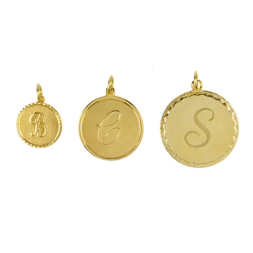 I found this at #moonandlola! - Metal Dalton Charm Sizes Gold