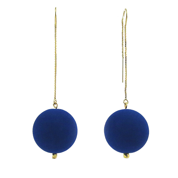 Moon and Lola - Lazare Earrings in Azule Blue