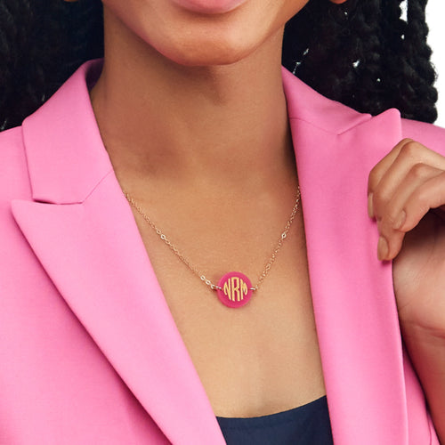 I found this at #moonandlola! - Hartford Monogram Necklace