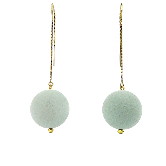 Moon and Lola - Lazare Earrings in Menthe Green