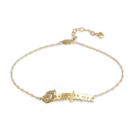 "Sample ""amanda"" Metal Nameplate Necklace"