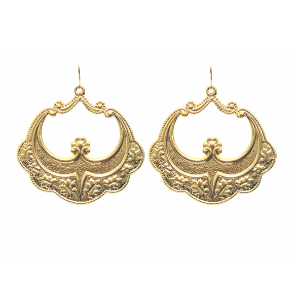 Moon and Lola - Sila Earrings in gold