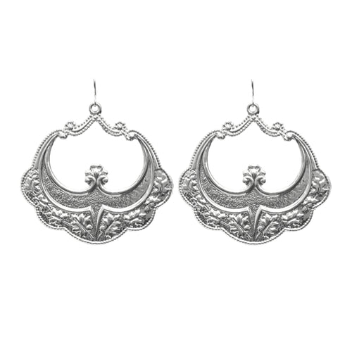 Moon and Lola - Sila Earrings in silver
