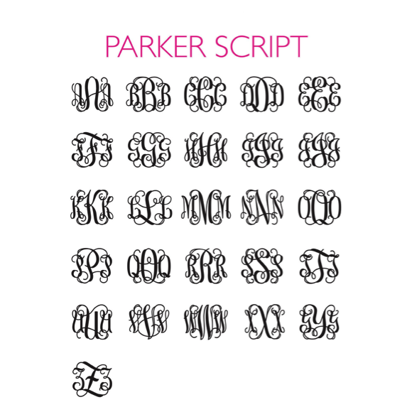 I found this at #moonandlola! - Parker Script Font Sheet