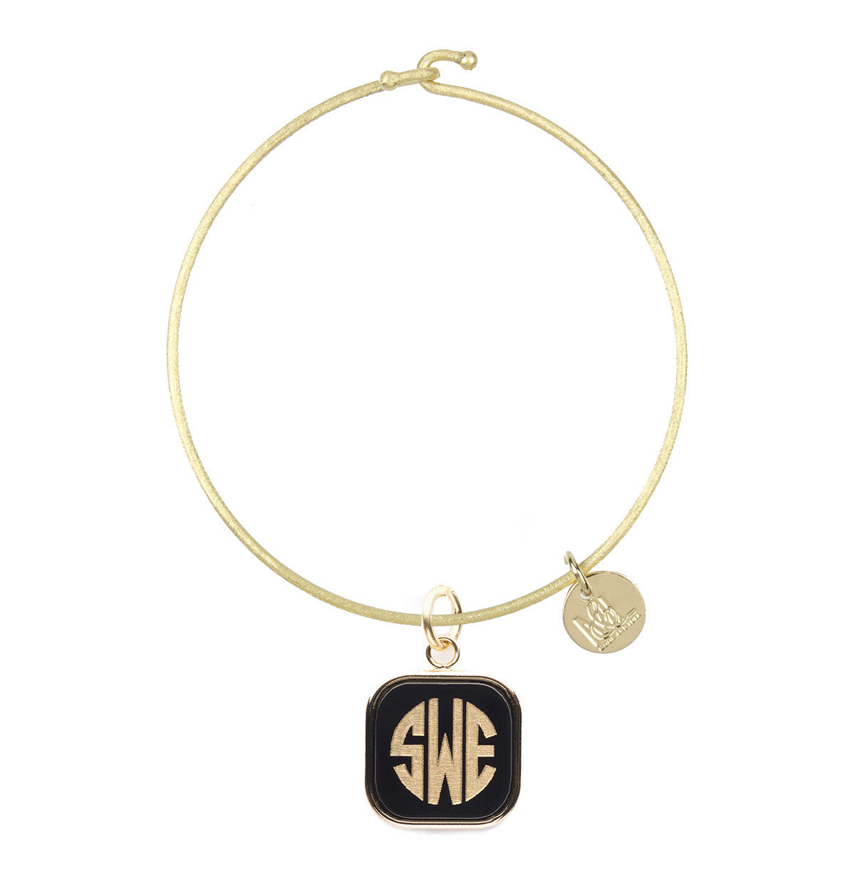 I found this at #moonandlola! - Nora Bangle with Vineyard Square Charm