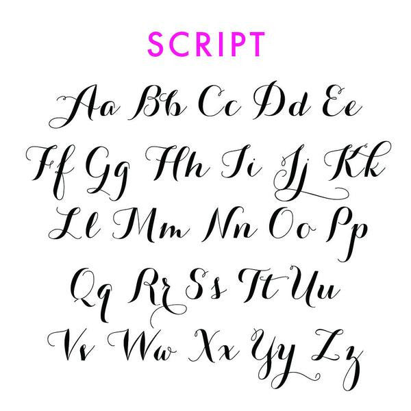 I found this at #moonandlola! - Ornament Script Font Sheet
