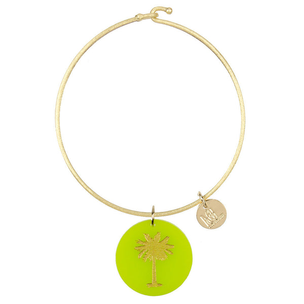 I found this at #moonandlola! - Eden Palm Tree Charm Bangle