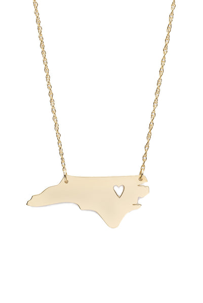 I found this at #moonandlola - Metal State Necklace
