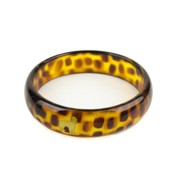 Moon and Lola - Pet Everly Bangle side view