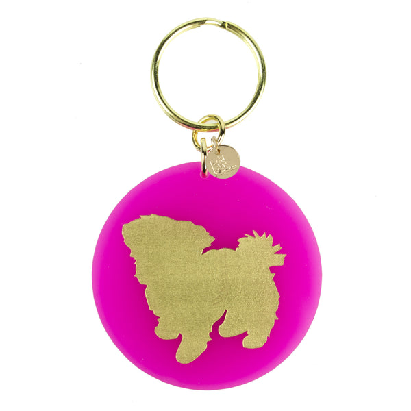 I found this at #moonandlola! - Pet Key Chain Maltese
