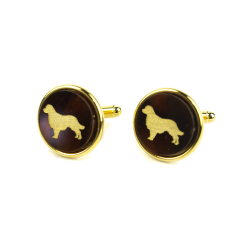 I found this at #moonandlola! - Pet Round Cuff Links