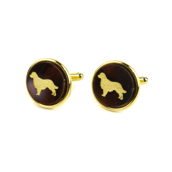 Moon and Lola - Pet Round Cuff Links