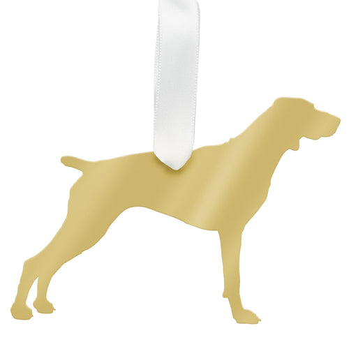 I found this at #moonandlola! - Pointer Ornament Mirrored Gold