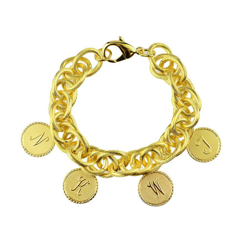 Moon and Lola - Preston Family 4 Charm Bracelet