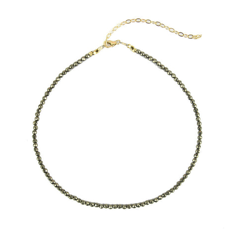 ML xx EM Cutout Acrylic Necklace - Interlocking