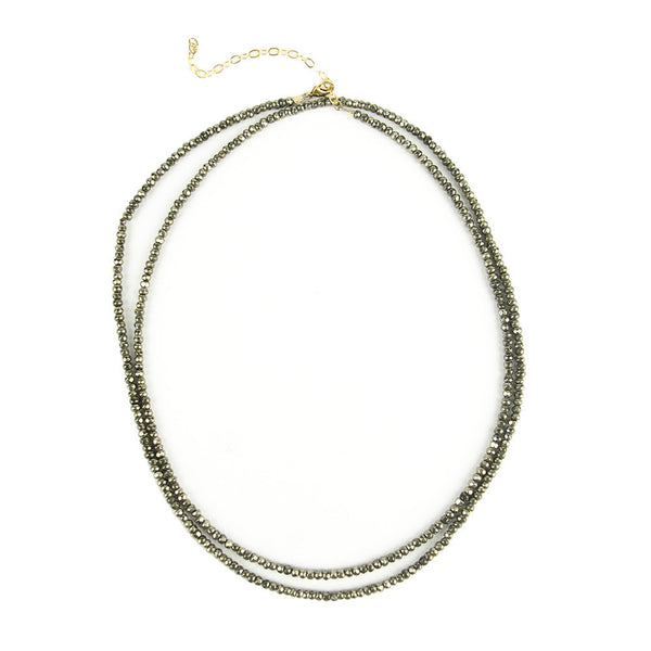 Moon and Lola - Rhea Necklace Pyrite