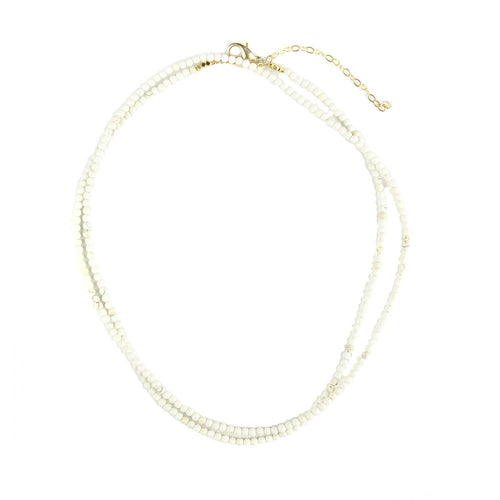 I found this at #moonandlola! - Rhea Necklace White Turquoise
