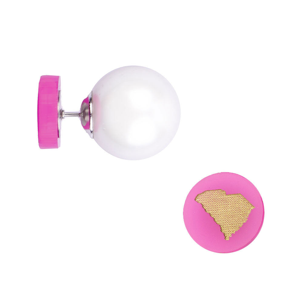 I found this at #moonandlola! - 360 State Studs Hot Pink