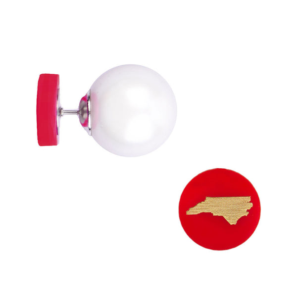 Moon and Lola - State 360 Studs Ruby