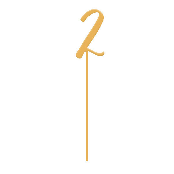 I found this at #moonandlola! - Number Cake Topper Symbol