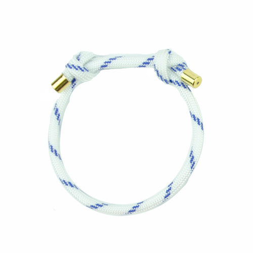 I found this at #moonandlola! - Topanga Bracelet available in blue and white, pink and white, pink and turquoise, orange, pink, and yellow