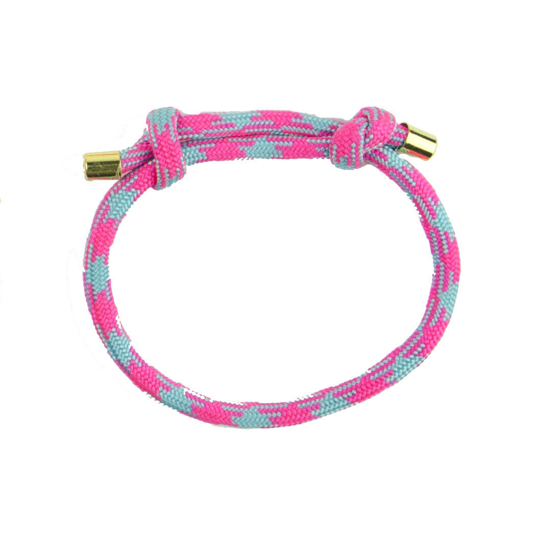 I found this at #moonandlola! - Topanga Bracelet Pink and Turquoise